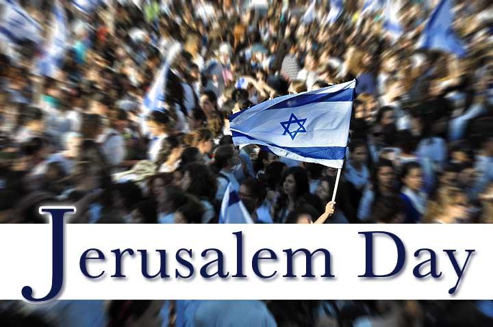 Image result for jerusalem day 2017