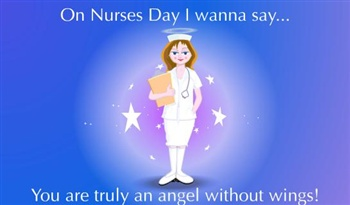 55 adorable international nurses day wish pictures on nurses day i wanna say you are truly an angel without wings m4hsunfo