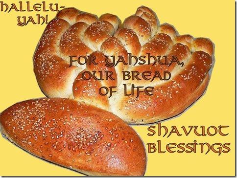 Shavuot Blessings