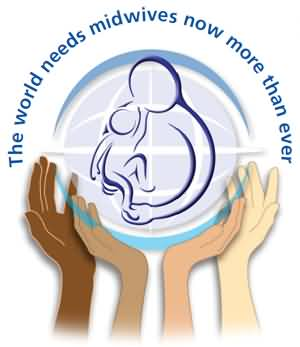 The World Needs Midwives Now More Than Ever International Midwives Day Card