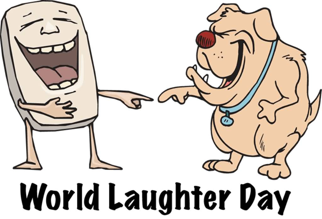 Group Of People Laughing Clipart