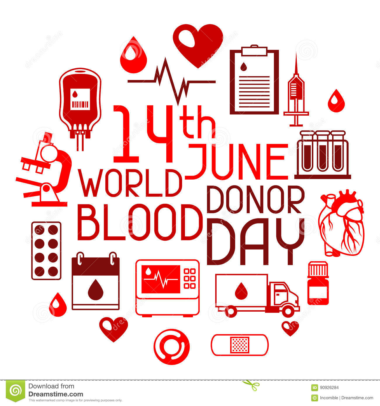 14th June World Blood Donor Day