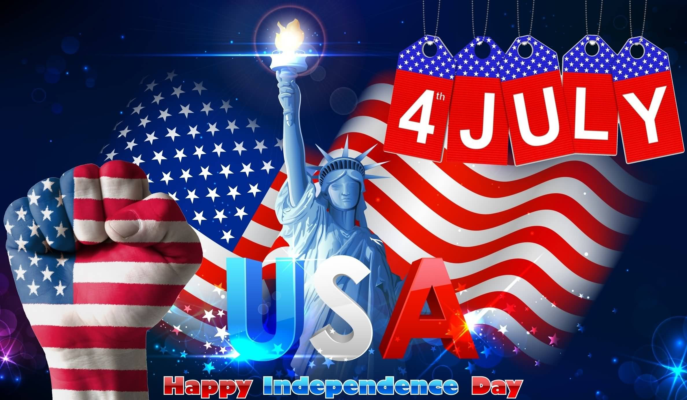 4th July USA Happy Independence Day