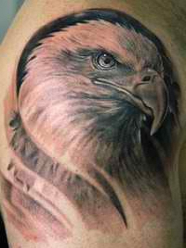 52+ Eagle Shoulder Tattoos Ideas and Meanings
