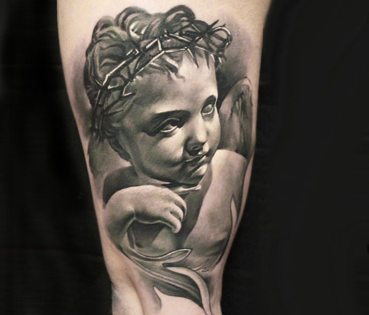 55+ Baby Angel Tattoos & Designs With Meanings