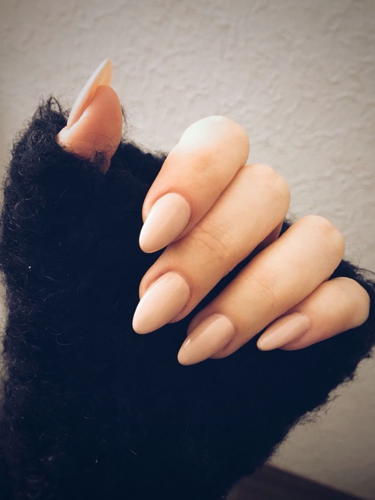 i Just Love These Almond Nails
