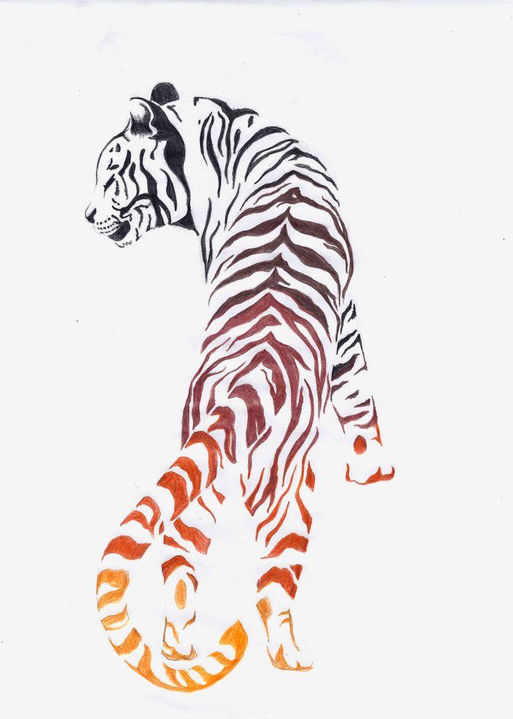 59 Tiger Face Tattoos Designs Ideas