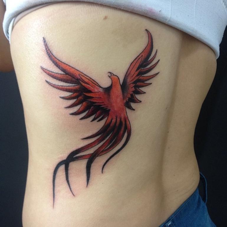 55+ Phoenix Bird Tattoos And Designs