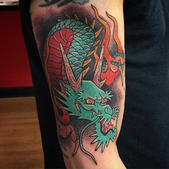 60 Awesome Dragon Tattoo Designs For Men: 60+ Popular Dragon Tattoos With Meanings