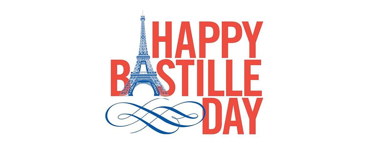 Happy bastille day wishes greeting card m4hsunfo