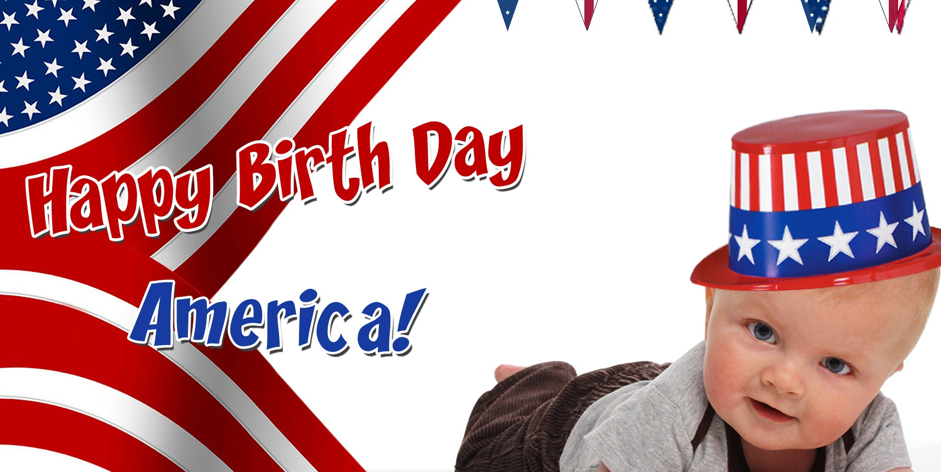 Happy Birthday America Beautiful Wishes Greetings