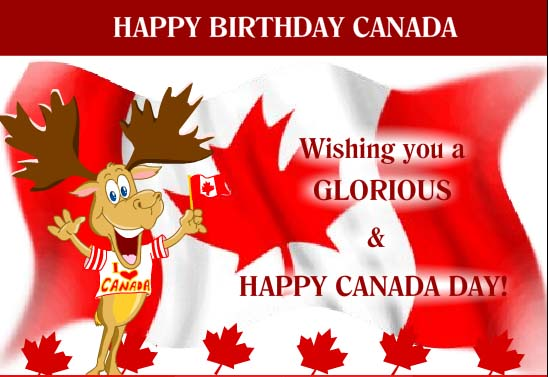 60 canada day celebration and wishes pictures and ideas happy birthday canada wishing you a glorious happy canada day m4hsunfo