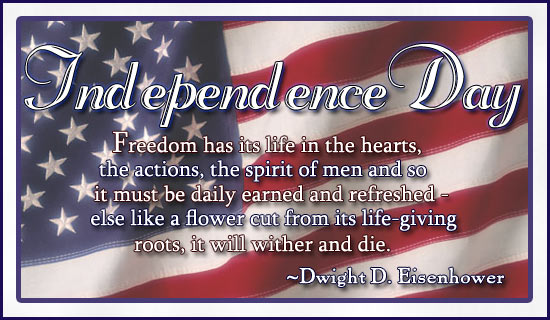 Happy Independence Day Greetings E-card