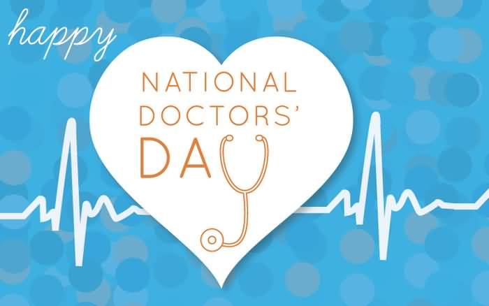 Happy national doctor day wishes e card m4hsunfo