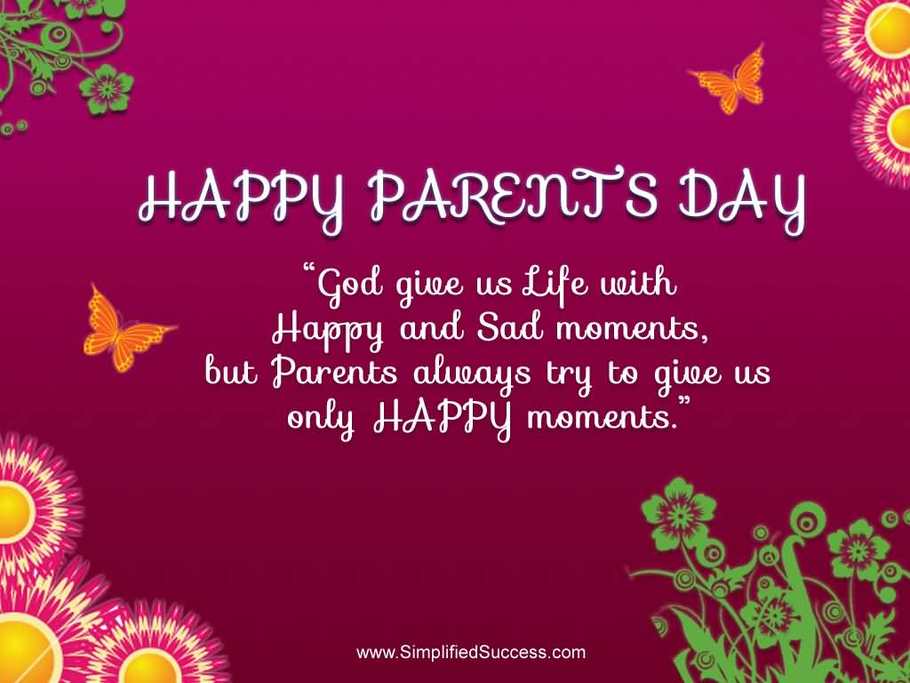 Happy parents day quotes greetings m4hsunfo