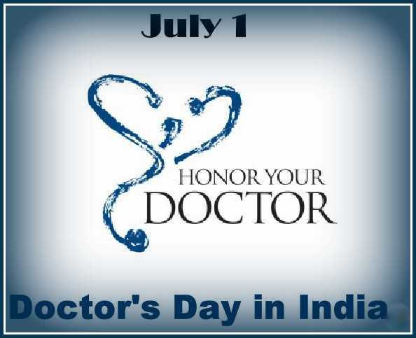 Honor you doctor happy national doctor day m4hsunfo