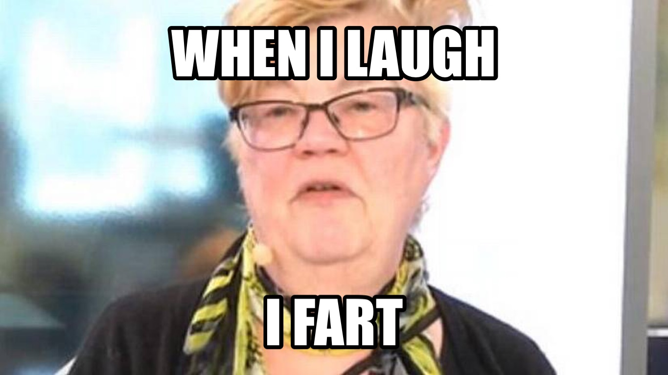 When I fart