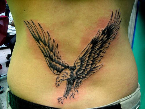 50+ Eagle Tattoos For Back With Meanings