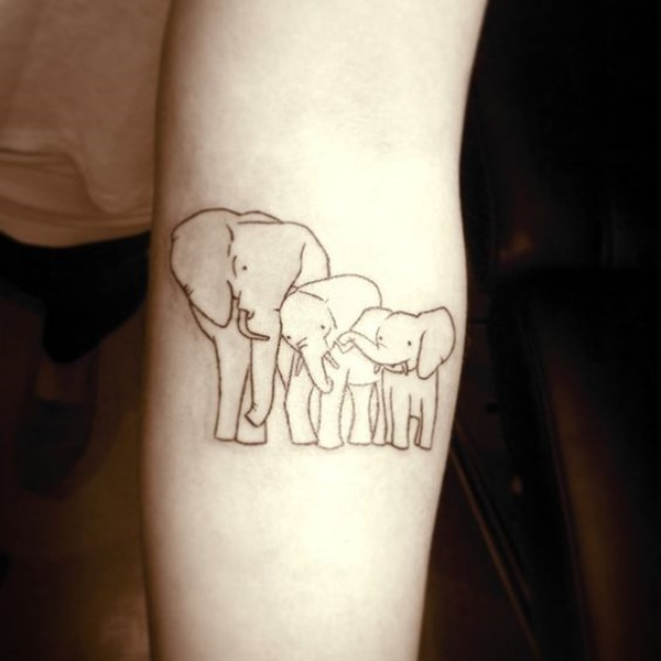 37 popular elephant tattoos collection