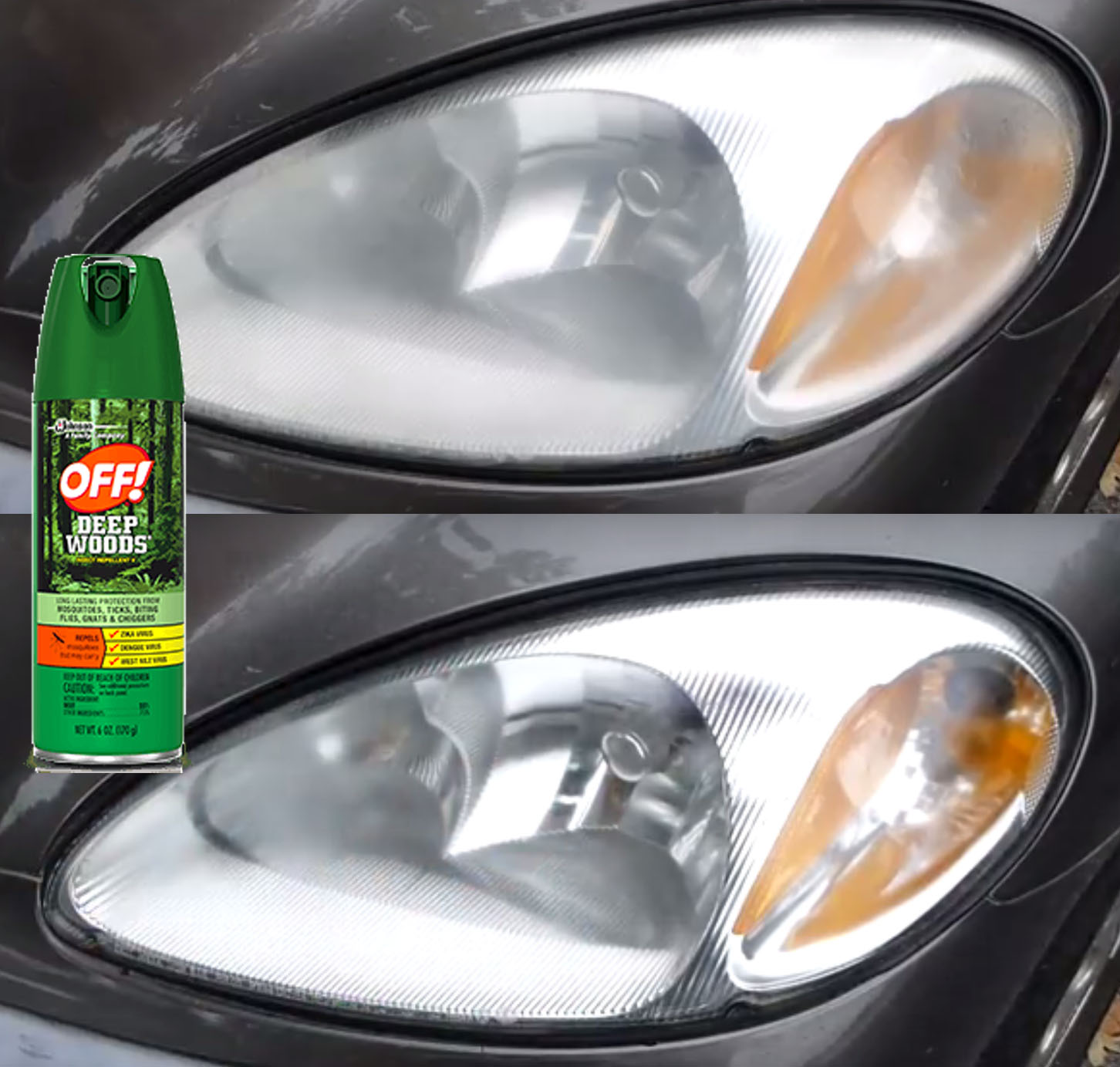 RESTORE HEADLIGHTS CHEAP, QUICK & EASY