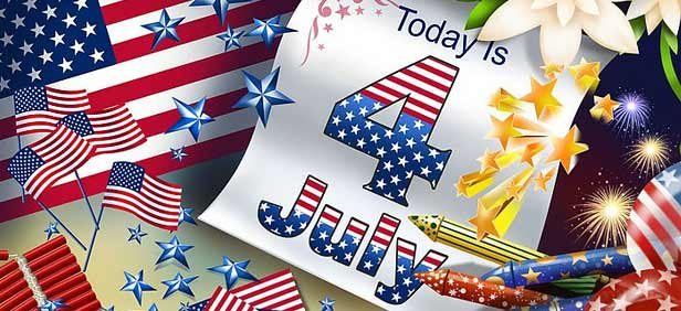 Today Is 4th July - Happy Independence Day