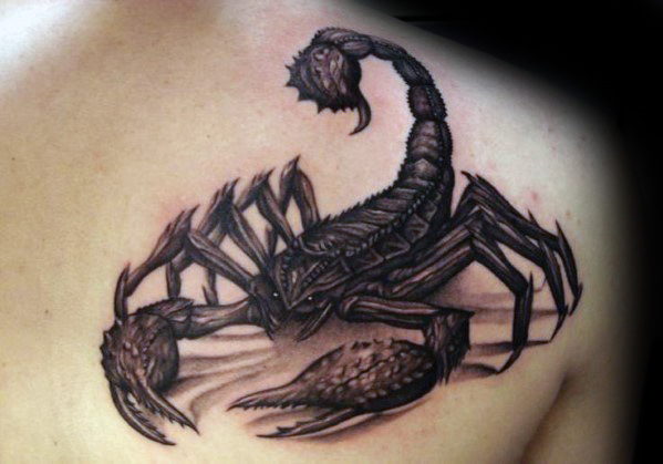 55 3d Scorpion Tattoos Collection