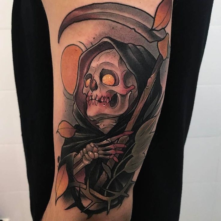 60 latest grim reaper tattoos with meanings
