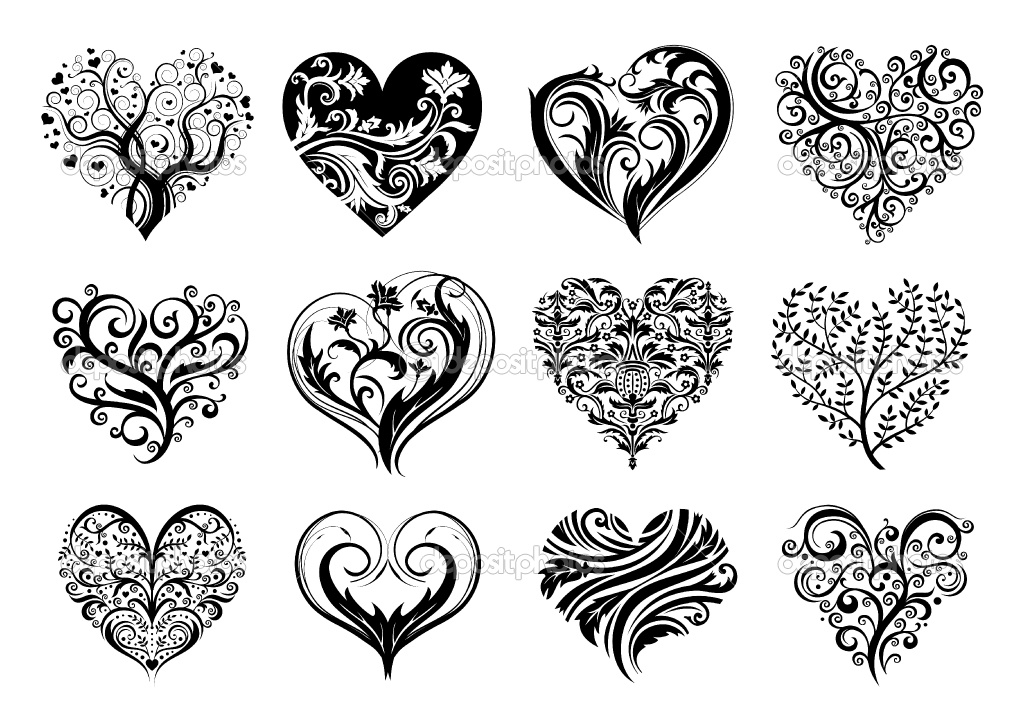 60 beautiful heart tattoos with meanings. Black Bedroom Furniture Sets. Home Design Ideas