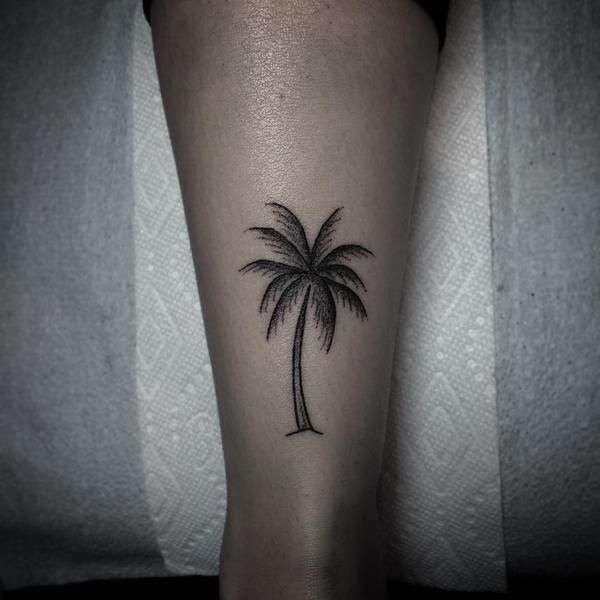 75 beautiful palm tree tattoos with meanings rh askideas com palm tree tattoos on ankle palm tree tattoos on foot