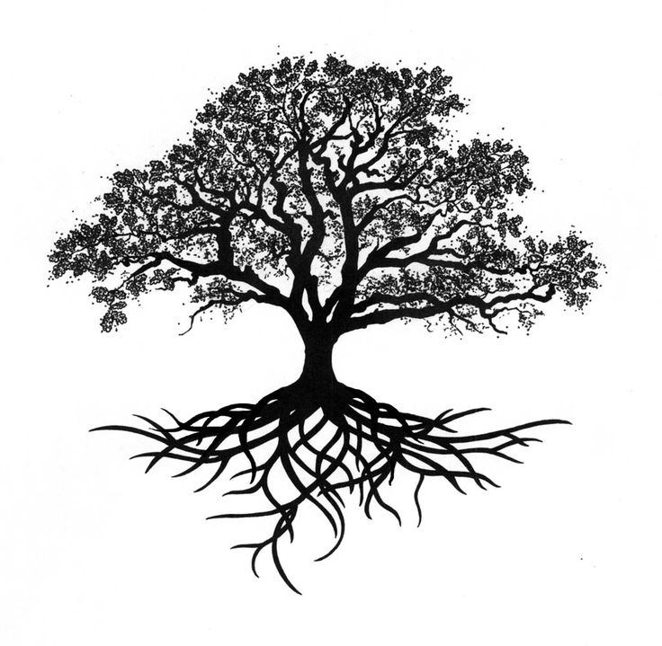 Amazing Tree Tattoo Design