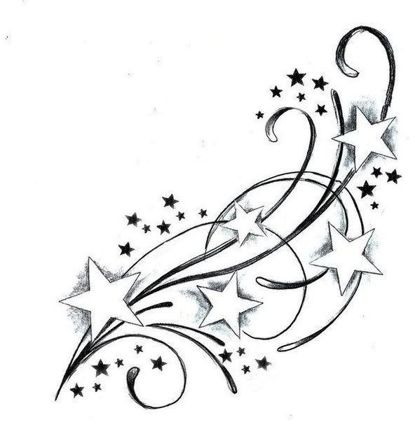 Shooting Star Tattoo Designs Best Tattoo Ideas