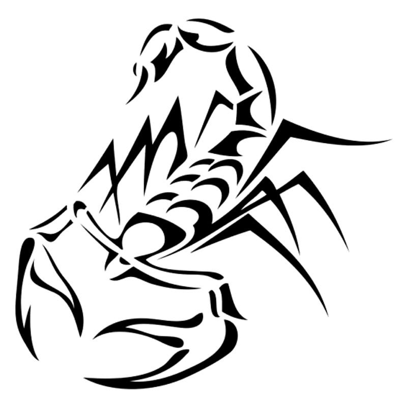 18 Stunning Tribal Scorpion Tattoo: Awesome Tribal Scorpion Tattoo Style