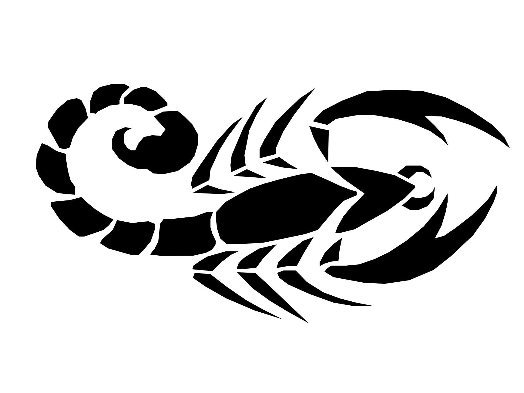35 Tribal Scorpion Tattoos Ideas
