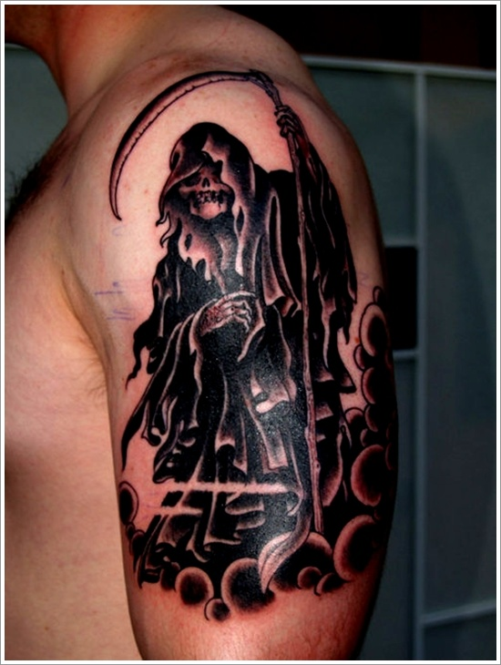 fec4246f4 60+ Latest Grim Reaper Tattoos With Meanings