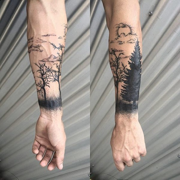 d83919e4d 68+ Meaningful Tree Tattoos Ideas and Designs