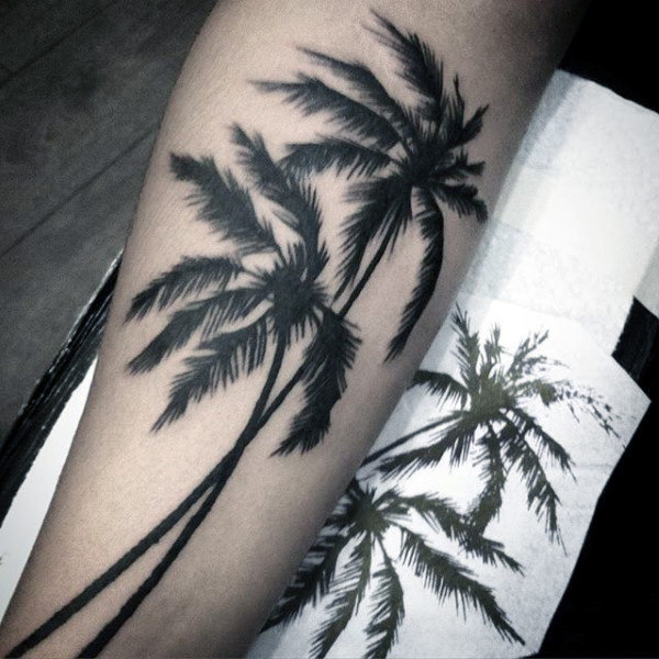 c6acd1afa 75+ Beautiful Palm Tree Tattoos With Meanings