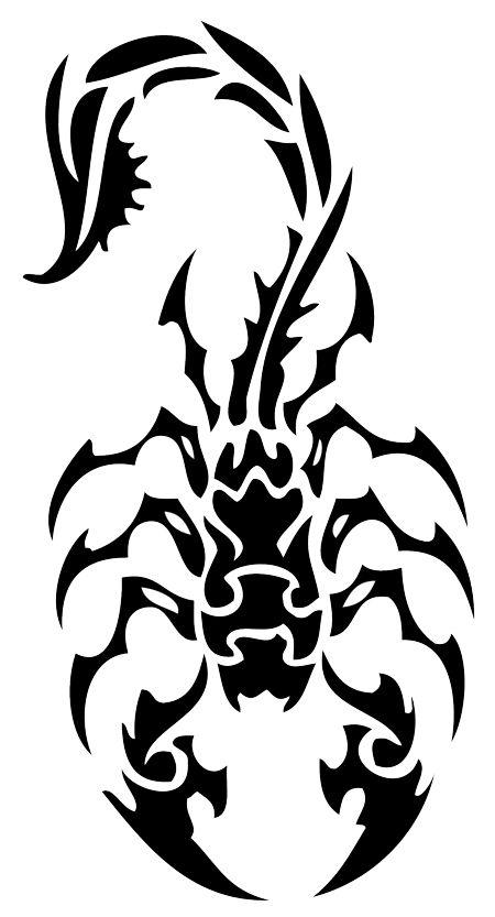 35 tribal scorpion tattoos ideas. Black Bedroom Furniture Sets. Home Design Ideas