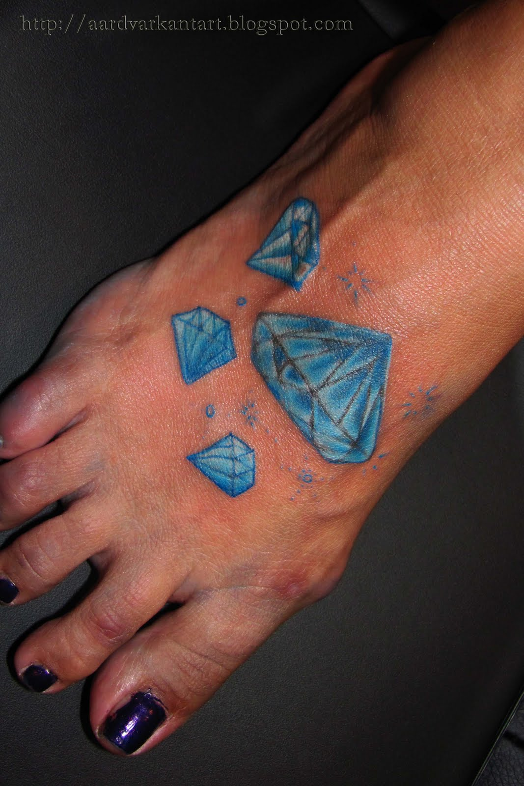55+ Latest Diamond Tattoos And Meanings