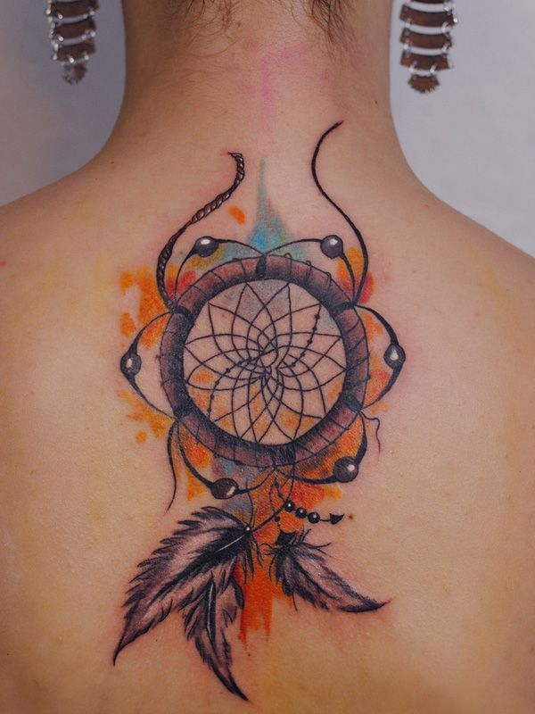 70 Meaningful Dreamcatcher Tattoos Ideas