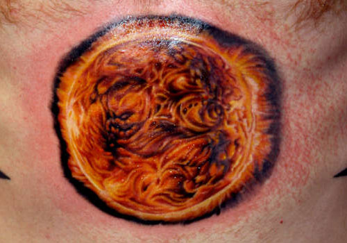 35+ Realistic Sun Tattoos Ideas And Pictures