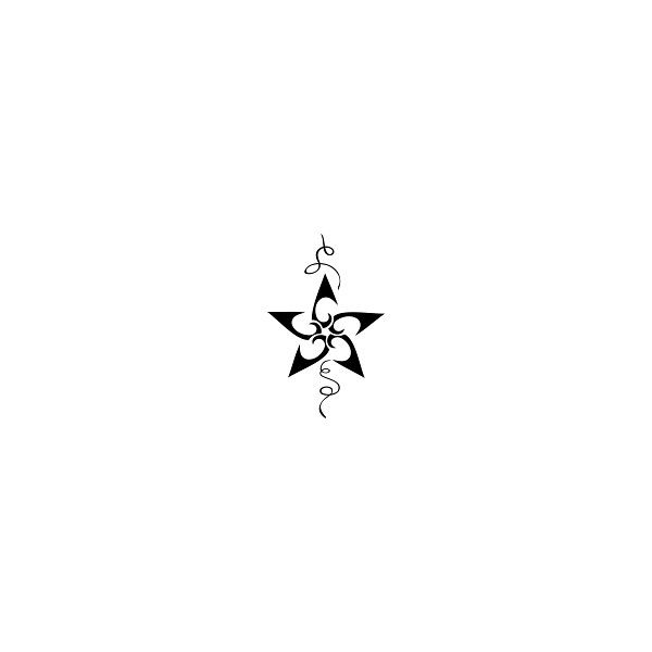 cool star designs tattoos images