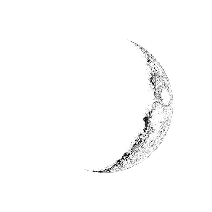 64 Beautiful Crescent Moon Tattoos With Meaning