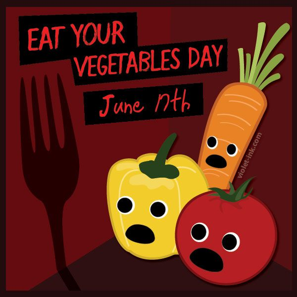 18+ Eat Your Vegetables Day Images And Ideas