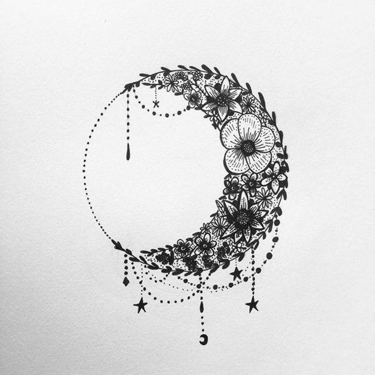 70 Moon Tattoos Ideas With Meanings