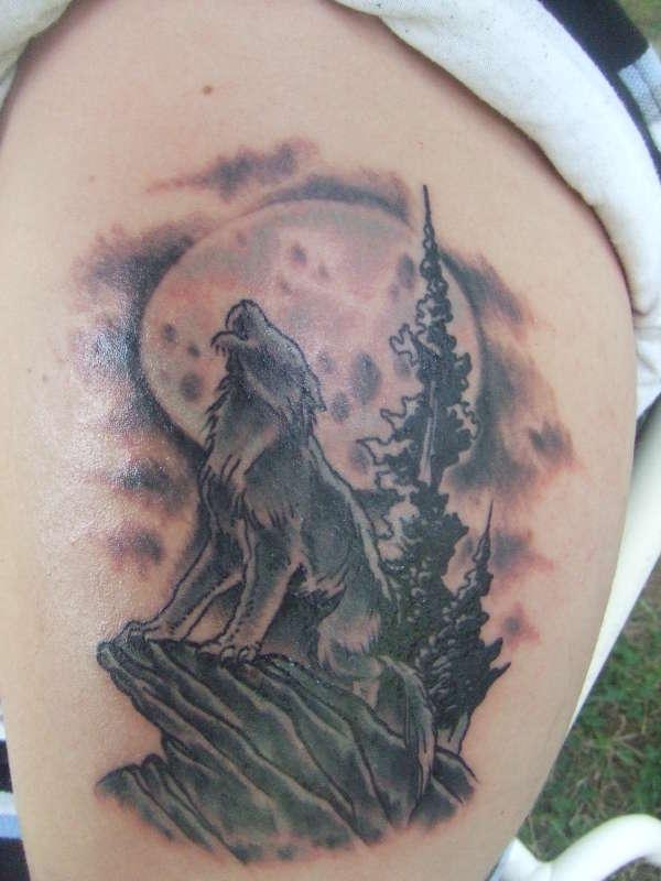 30+ Full Moon Tattoos Ideas