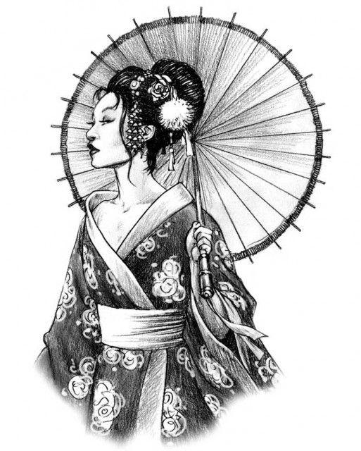 52 Japanese Geisha Tattoos Ideas And Meanings