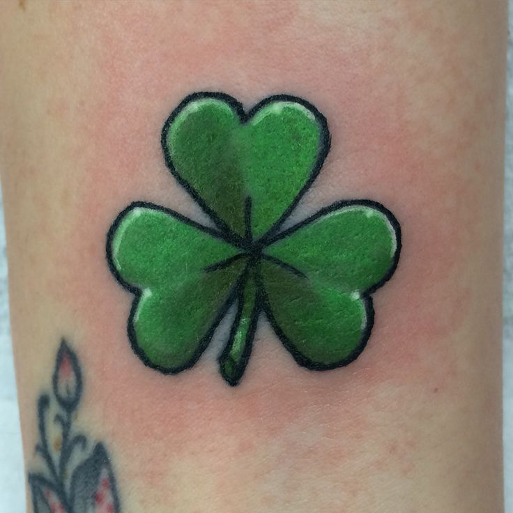 71 shamrock tattoos ideas with meanings. Black Bedroom Furniture Sets. Home Design Ideas