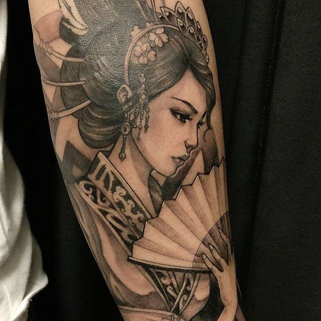 52 Japanese Geisha Tattoos Ideas And Meanings