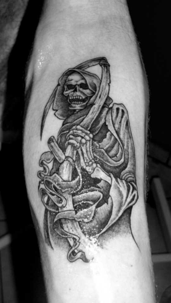 60+ Latest Grim Reaper Tattoos With Meanings
