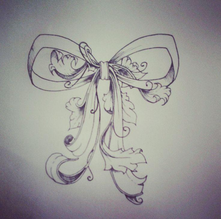 Pretty bow tattoos
